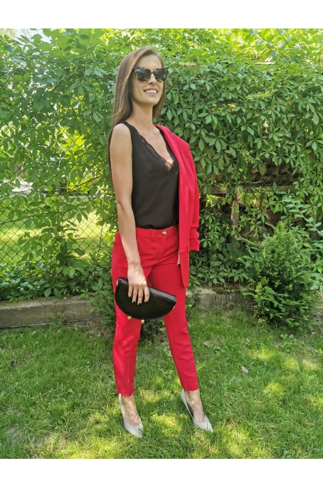 Spodnie Ann Red